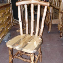 Aspen And Beetle Kill Pine Windsor Chair