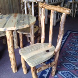 Aspen And Beetle Kill Pine Highlands Chair